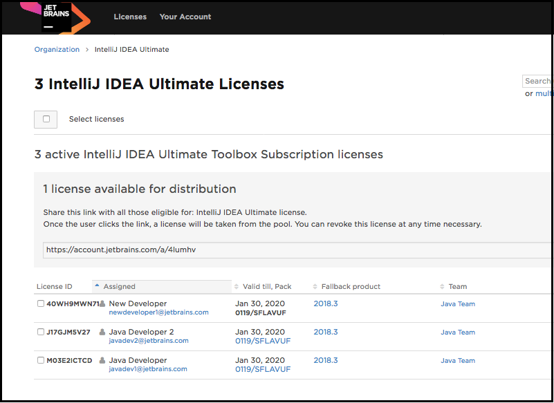 Revoking licenses from users and reassigning to a new user